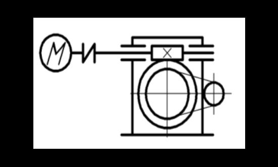 Привод механизма подъема